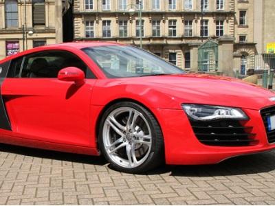 Audi R8 Sports car hire in London