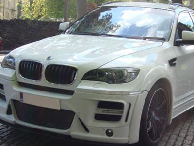 BMW X6 executive car hire in London