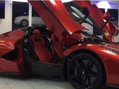 LaFerrari sports car hire in London