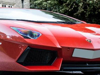 Lamborghini Aventador S Coupe sports car hire London