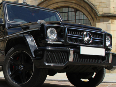 Mercedes Benz AMG G63 executive car hire in London