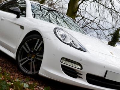 Porsche Panamera Turbo Wedding Car Hire in London