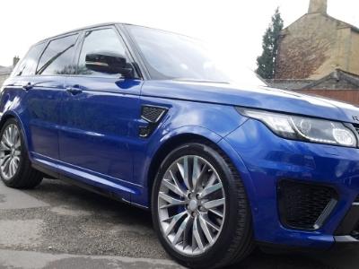 Range Rover Sport SVR Wedding Car Hire in London