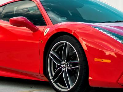 Ferrari 488 Spyder sports car hire in London