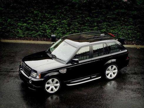 Chauffeur driven black Range Rover hire in UK