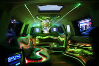 pink limousine hire